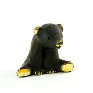 Walter Bosse Brass Sitting Bear Figurine