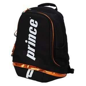 Prince 12 Tour Team Backpack Orange: Sports & Outdoors