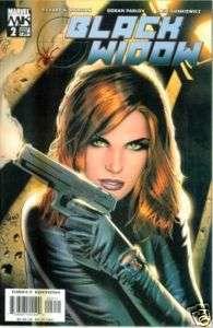 Marvel the Black Widow comics vol. 3 (2004) # 2 NM