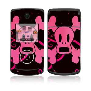 LG Chocolate 3 Skin   Pink Screaming Crossbones