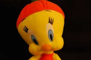 Plush Pumpkin Looney Tunes Tweety Bird Lovey Cute