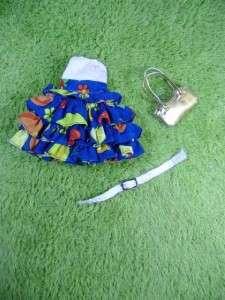 Blythe doll Outfit Clothing Handmade Basaak Set 3 PCS