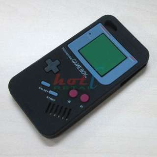 Silicone Case Cover Protector Gameboy Game Boy For iPhone 4S