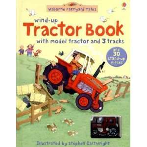 Wind Up Tractor Book [Board book]: Heather Amery: Books
