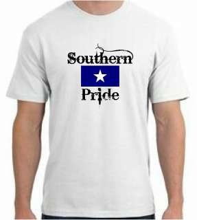 Southern Pride Bonnie Blue Flag T Shirt   U Pick Color!