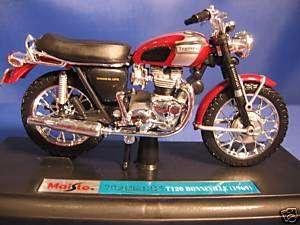 Maisto Triumph T120 Bonneville Motorcycle 1969 39345