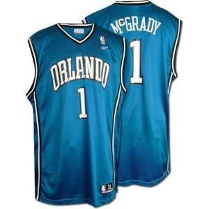 Tracy McGrady Reebok NBA Replica Orlando Magic Jersey: