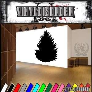 Trees Douglas Fir Tree NS001 Vinyl Decal Wall Art Sticker