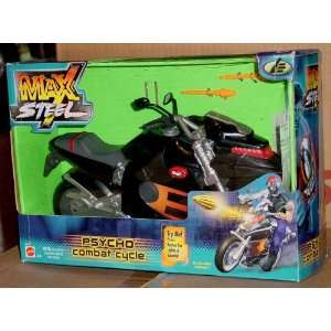 Max Steel Psycho Combat Cycle Toys & Games