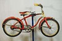 1952 Schwinn 20 kids bike Bantam solid tires skiptooth bicycle boys