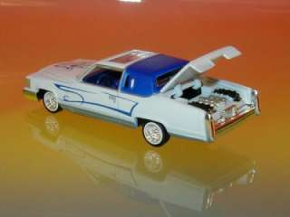 Hot 81 Cadillac Coupe Deville Lowrider Limited Ed 1/64
