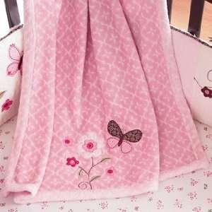 Carters Butterfly Flowers Nursery Boa Blanket Baby
