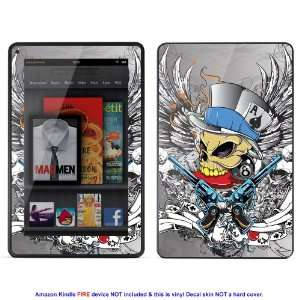 Skin sticker for  Kindle Fire case cover Kfire 502 Electronics