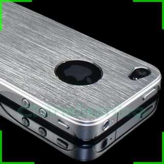Ultra thin Brushed Luxury All metal Aluminum Hard Case Cover For