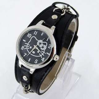HelloKitty lovely Girls women Quartz Watch Wristwatch students gift