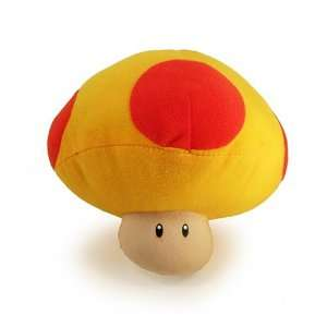 Super Mario Brothers  Mushroom Plush   6 (Yellow+Red