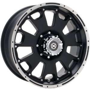 American Racing ATX Vice 18x8.5 Black Wheel / Rim 6x5.5 with a 18mm