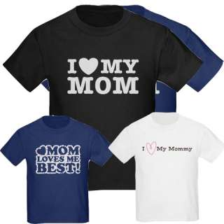 Love Mommy Kids T Shirts