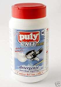 PULY CAFF ESPRESSO MACHINE CLEANING POWDER   20 oz JAR 8000733004049