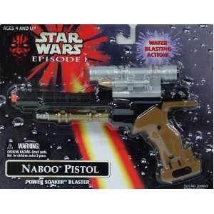 Naboo Pilstol Power Soaker Blaster Star Wars Episode 1 Toys & Games