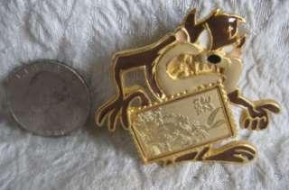 WB Tasmanian Devil TAZ Bugs Bunny Collector Stamp Pin