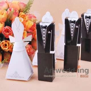 96TUXEDO & DRESS(Groom bridal)Wedding Favor Boxes Gift
