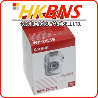 Canon WP DC39 Digital Camera Waterproof Case