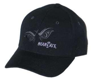 CINCINNATI BEARCATS BLACK VORTEX FITTED HAT/CAP 7 1/8