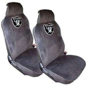raiders car seat covers on popscreen. Black Bedroom Furniture Sets. Home Design Ideas