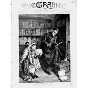1873 El Dia Del Santo Del Cura Children Man Books Home