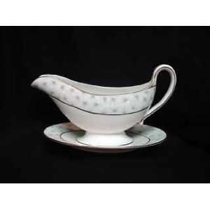 SPODE GRAVY THISTLEDOWN ATTACHED UNDERPLATE Everything