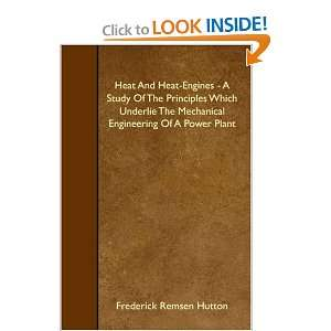 Of A Power Plant (9781408611951): Frederick Remsen Hutton: Books