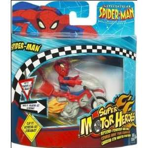Spider Man Animated Series Super Motor Heroes   Spider Man Toys
