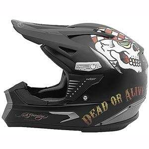 KBC Ed Hardy Speed Kills PRO X Helmet   X Large/Black