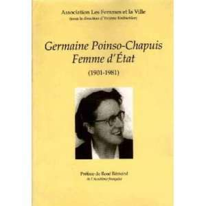 Germaine Poinso Chapuis, femme dEtat (1901 1981) (French