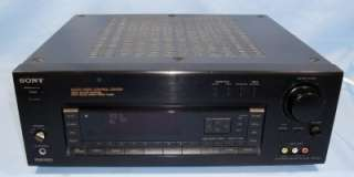 Sony Am/Fm Stereo Receiver Audio/Video Control Center   Model STR