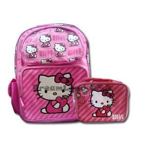 Hello Kitty  Large Backpack & Lunch Box Set Toys & Games