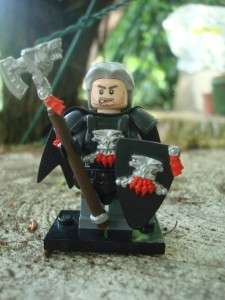 CUSTOM LEGO MINIFIG CASTLE WOLF PACK SORCERER EXCLUSIVE
