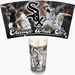 MLB Chicago White Sox Set of 2 24oz Tumbler Mugs *SALE