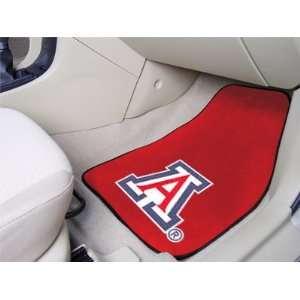 Arizona Wildcats universal fit Carpet 2 Pc Car Floor Mat