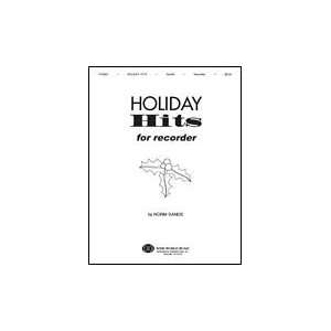 Holiday Hits for Recorder Book With CD