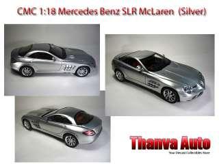 CMC 118 Mercedes Benz SLR McLaren 2003 Silver Retired Last
