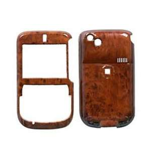 Cell Phone Snap on Protector Faceplate Cover Housing Case   Wood Grain