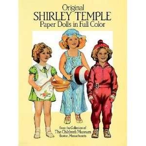 Original Shirley Temple Paper Dolls[ ORIGINAL SHIRLEY