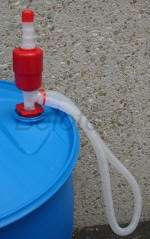 Emergency Water Siphon Pump 5 GPM Fits 5 55 Gallon Drum