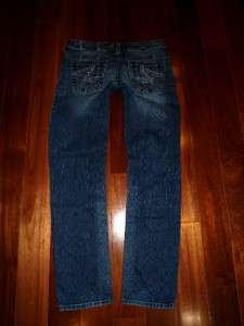 Buckle SILVER Tuesday Slim Low Rise Stretch Straight Skinny Jeans euc
