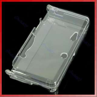 Hard Crystal Case Clear Skin Cover F Nintendo 3DS 3 DS