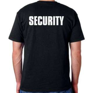 secur001 security t shirt pick your size in the menu above gildan high