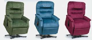 Capri 2 Position Electric Recliner Lift Chair  5 COLOR CHOICE
