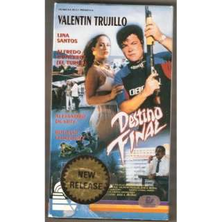 Final [VHS]: Alfredo Gutiérrez, Lina Santos, Valentín Trujillo
